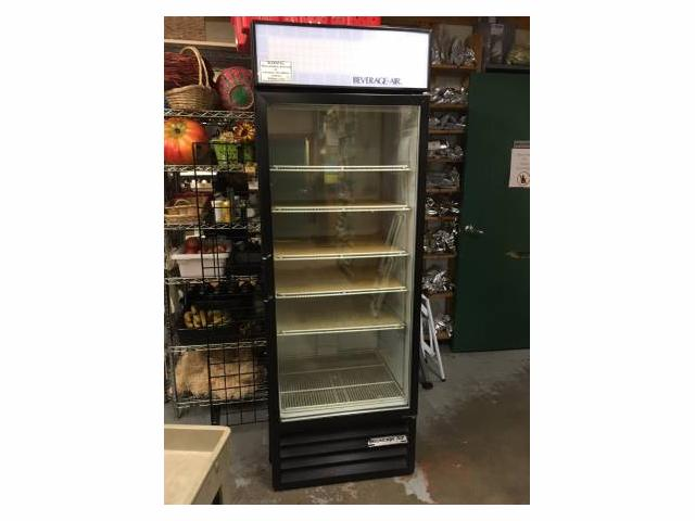 Used Beverage-Air Single Door Commercial Fridge