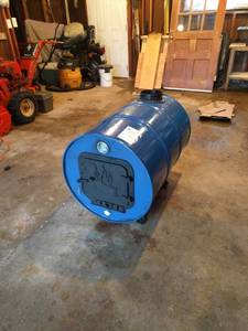 55 Gal Barrel Wood Stove (Oostburg, WI)