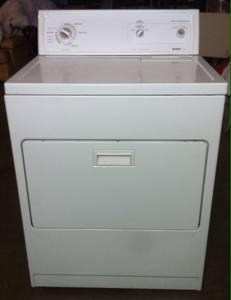 KENMORE ELECTRIC DRYER ----Super Capacity Plus (Free Delivery) (mesa)