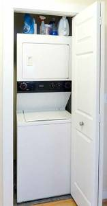 Stackable washer dryer ' 27 wide (Upper darby)