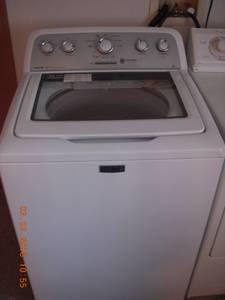 Maytag washer (Juneau)