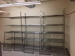 Commercial Grade Stainless Adjustable Shelving unit (PUTNAM)