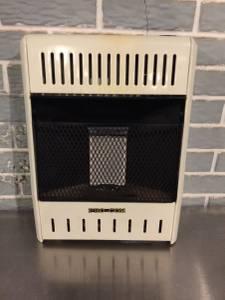 Pro com propane wall heater 6000 btu