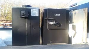 New Hitzer model 55 coal stove (Germantown)