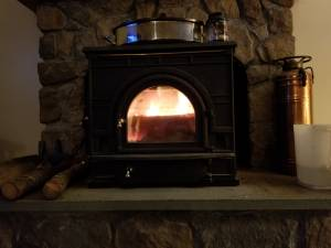 Dutchwest Fireview Wood Stove (Brattleboro area)