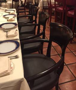 Restaurant chairs, cappuccino, dble gas convection oven (Wash, DC)