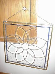Studio One All Clear Beveled Leaded Glass Window (New Berlin)