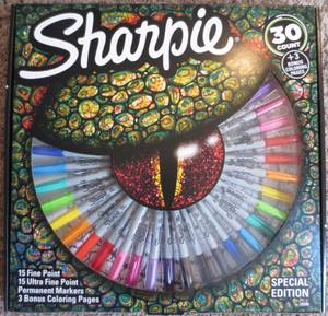 New Sharpie 30 Marker Special Edition Pack (Marietta)