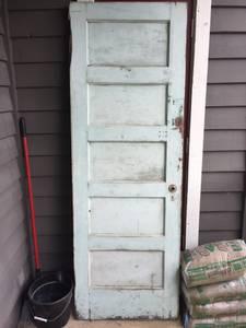 Antique Wooden Door (Memphis)