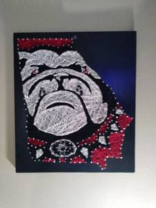 Georgia Bulldog Art (ATLANTA)
