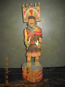 Hopi Kachina (Butterfly Girl) Doll (Aztec)