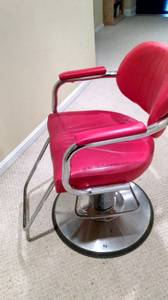 Red Barber Chair (Towson)