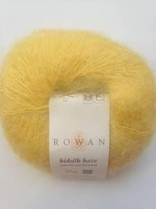 Rowan KidSilk Haze, Mohair Silk Yarn, Yellow, Lace, 4 Skeins (Hopkins)