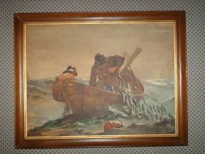 framed Winslow Homer