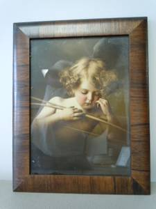 Sleeping Cupid Framed Picture (2007) (Noblesville)
