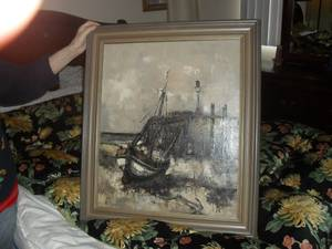 UNIQUE ORIGINAL OIL PAINTING !! ** (Granada Hills)