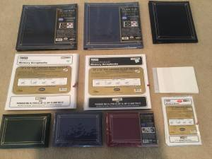 Scrapbooks, Refill Pages and Xyron Sticker Cartridge Replacement (North Plano)