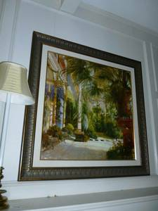 Grand Entrance Framed Picture (Addison)