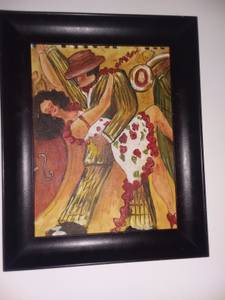 Latin Dancers , oil on canvas (Atlanta/Kirkwood)