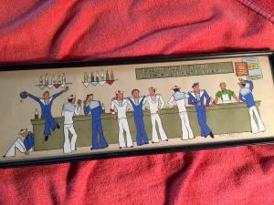 Georges Rollin DE Vertury Navy Bar Scene (Redondo Beach)
