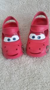 Disney Cars clog shoes size 13 (Frisco)