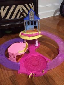 Disney Castle Glitter Glider Playset (Apex)