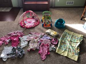 0-3 mo infant girl clothes & accessories