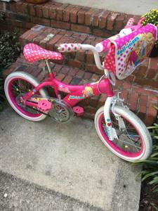 Barbie Bike/Helmet (Cary)