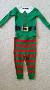 CHRISTMAS OUTFIT SANTA'S LITTLE ELF 18 MONTHS (New Lenox)