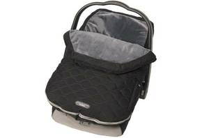 NIP JJ Cole Infant Urban Bundle Me Baby Bunting, Stealth (Black)