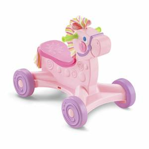 Fisher-Price Brilliant Basics Roll-Along Musical Pony