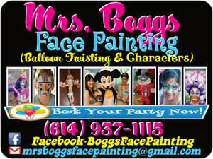 Affordable, Fast Face Painting/Balloon Twisting