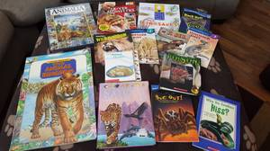 Animal learning books (Beaver Dam)