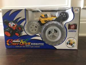 New in Box RC Crazy Drive Racing Thunder (Cary)