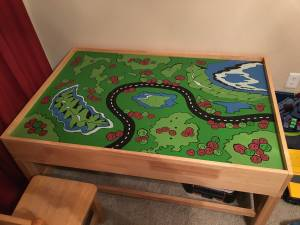 Train Table (Flower Mound)
