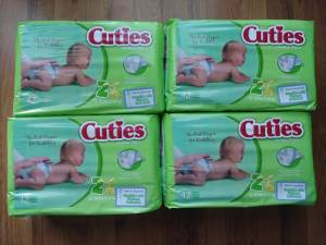 Size 2 diapers (Bartlett)