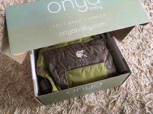 New in box - Onya Baby Carrier