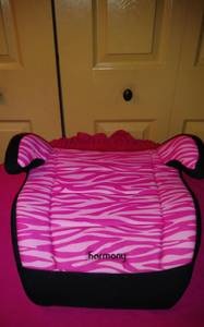 GIRLS Harmony like new booster car seat EXP 2020 (pompano beach)