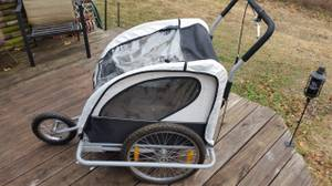 2 in 1 Child Bike Trailer and Stroller (NE OKC)