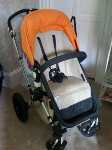 Bugaboo Cameleon Stroller with accessories available (Swampscott)