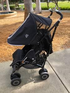MACLAREN TECHNO XT Deluxe Umbrella Stroller - Black (west palm beach)