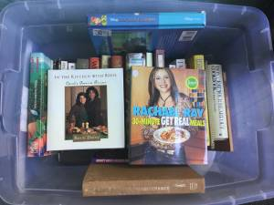Cook Books! Rachael Ray and others!