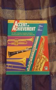Used - Accent on Achievement, Book 3: Mallet Percussion (Choctaw)