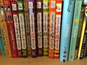 Diary of a Wimpy Kid books (Edmond)