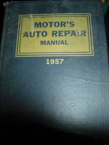 MOTORS AUTO REPAIR manual 1957 (garden city)