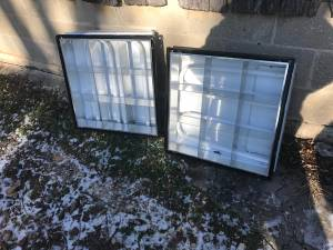 Bright fluorescent lights for reading 2x4 2x2 (Joppa)