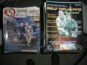 Survival Quartly andSRI Magazines (Carmel)