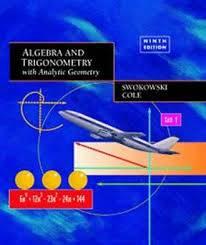 Two Textbooks: Algebra and Trigonometry / Accounting (Schaumburg)