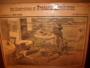 Frederic Remington book 10.00 (Garland Tx)