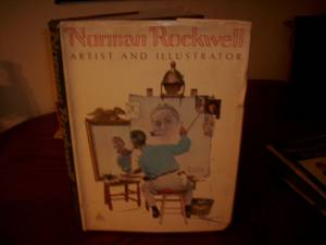 Norman Rockwell book 25.00 (Garland Tx)
